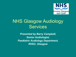Glasgow Audiology Services