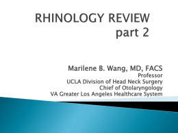 PPT - UCLA Head and Neck Surgery