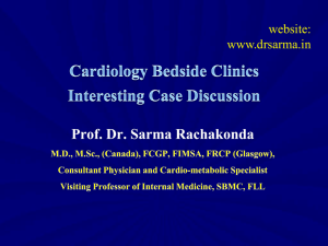 Cardiology Bedside Clinics Interesting Case Discussion