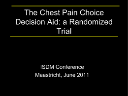KER UNIT - Mayo Clinic Shared Decision Making National