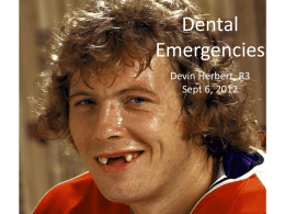 dental_emergencies - Calgary Emergency Medicine