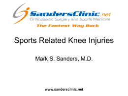 Sports-Related-Knee-Injuries