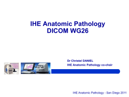 In anatomic pathology