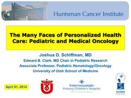 View the presentation - University of Utah Health Sciences