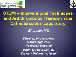 STEMI_Flow_2013 - Eli Lev MD - his