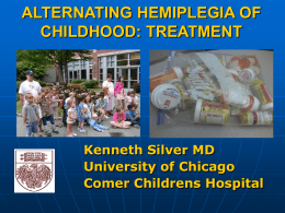 Dr Ken Silver - International Foundation for Alternating Hemiplegia