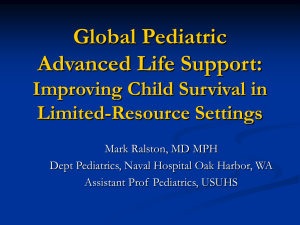 Global Pediatric Advanced Life Support