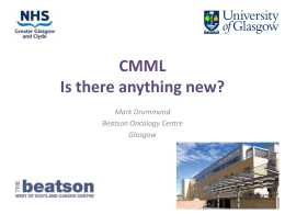 CMML Is there anything new? - Chronice Myeloid Leukemia