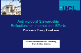 Presentation - National Resource for Infection Control