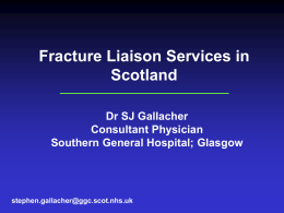 NHS Scotland FLS Presentation - September 2014