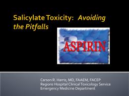 Salicylates_TCA Toxicity