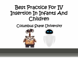 Peds and IVs - group 11 powerpoint