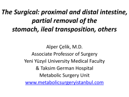 The difficulty of ileal transposition is offset by their results or is