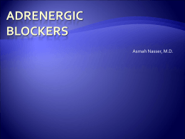 10. Adrenergic Blockers