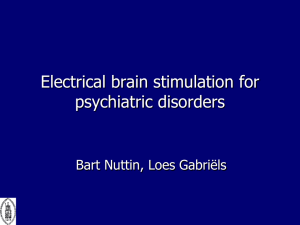 Bart Nuttin - the North American Neuromodulation Society