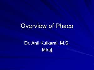 46-overview-of-Phaco - M.M.Joshi Eye Institute