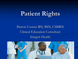 Patient Rights Print 3rd