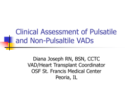 Clinical Assessment of Pulsatile and Non