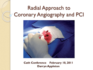 Transradial Approach to Coronary Angiography and PCI file