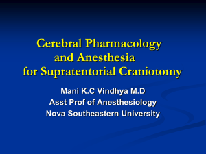 CerebPharm-1 - Anesthetist Student Blog