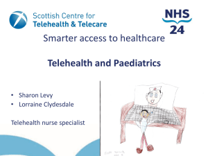 Sharon Levy: Telehealth & Paediatrics
