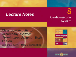 CH-8 Lecture - Horizon Medical Institute