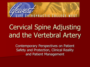 Vertebral Artery Issues Update