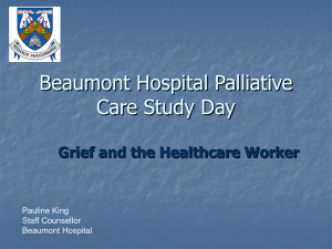 Beaumont Hospital Palliative Care Study Day