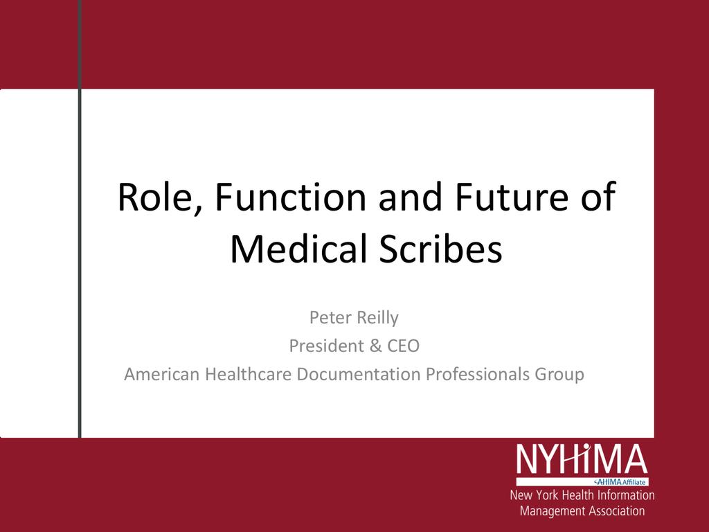 Medical Scribe Certification