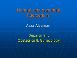 Normal-And-Abnormal-Puerperium-DrAZ