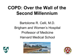 COPD: Recent and Ongoing Clinical Trials in COPD