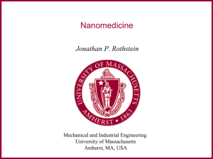 Overview of nanomedicine