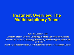10.Treatment Overview.Multidiciplinary Team