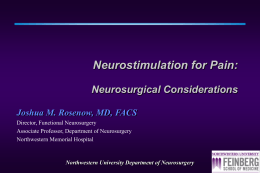 Northwestern University Department of Neurosurgery