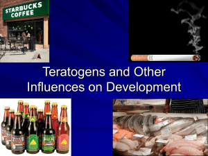 Teratogens and Developmental Influences
