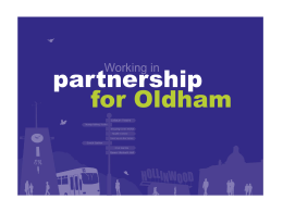 offer for Oldham - Pennine Care NHS Foundation Trust