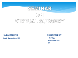 Introduction of Virtual Surgery