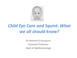 PO and S What We All Should Know By Dr Anaspure Asstt