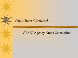 Infection Control Nurse Orientation