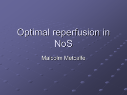 Optimal Reperfusion Therapy – Dr Malcolm Metcalfe