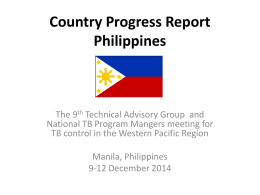 Philippines - WHO Western Pacific Region