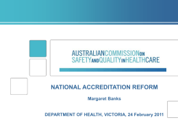 Australian Commission on Safety and Quality in