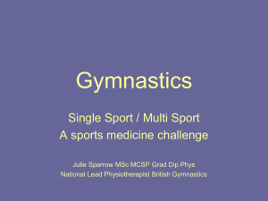 Gymnastics - Leeds Beckett University