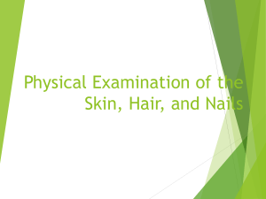 Physical Examination of the Skin, Hair, and Nails