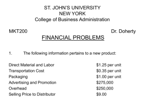 FINANCIAL PROBLEMS ST. JOHN`S UNIVERSITY NEW YORK