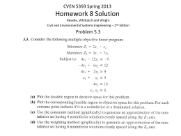 Homework 8 Solution - Civil, Environmental, and Architectural