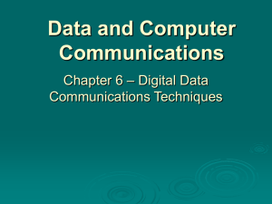 Chapter 6 - William Stallings, Data and Computer Communications