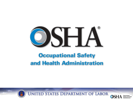 Click here to the 2014 OSHA ReportCard.