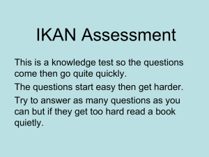 IKAN PowerPoint 2 - nzmaths | nzmaths