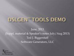Just Tools Demo Presentation EnhancedVer3WithSpeak